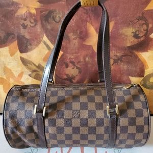 Louis Vuitton Damier Ebene Papillon Bag